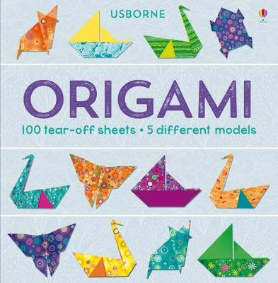 Origami Tear off Pad by Lucy Bowman