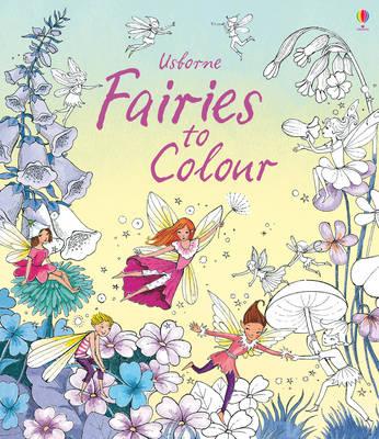 Fairies to Colour by Susanna Davidson