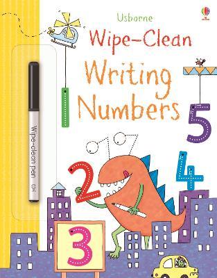 Wipe-Clean Writing Numbers by Jessica Greenwell