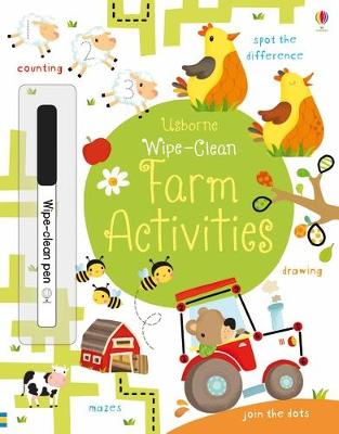 Wipe-Clean Farm Activities by Kirsteen Robson