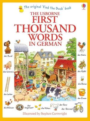First Thousand Words in German by Heather Amery