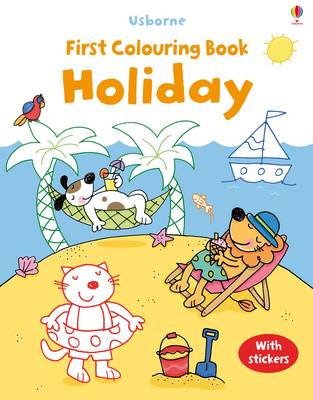 First Colouring Book Holiday by Jessica Greenwell