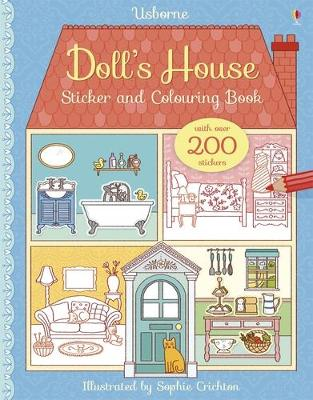 Doll's House Sticker and Colouring Book by Abigail Wheatley