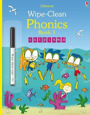 Wipe-Clean Phonics Book 1 by Mairi Mackinnon