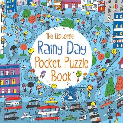 Rainy Day Pocket Puzzle Book by Simon Tudhope