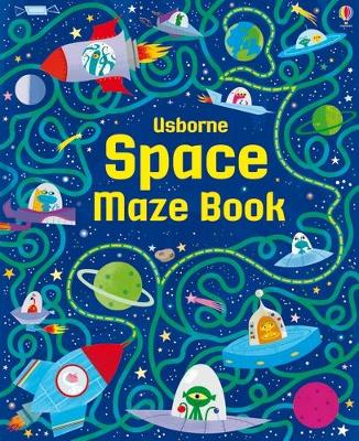 Space Maze Book by Kirsteen Robson