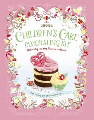 Children's Cake Decorating Kit by Abigail Wheatley