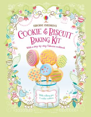 Children's Cookie and Biscuit Baking Kit by Abigail Wheatley