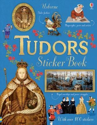 Tudors Sticker Book by Emily Bone
