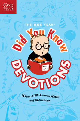 The One Year Did You Know Devotions by Nancy S Hill