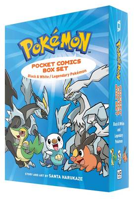 Pokemon Pocket Comics Box Set Black & White / Legendary Pokemon by Santa Harukaze
