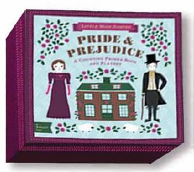 BabyLit Pride and Prejudice Playset with Book by Jennifer Adams, Alison Oliver
