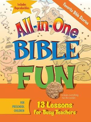 All-in-one Bible Fun Preschool Favorite Stories of the Bible by Abingdon Press
