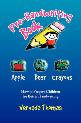 Pre-Handwriting Book by Vernada Thomas