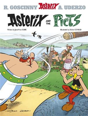 Asterix: Asterix and the Picts Album 35 by Jean-Yves Ferri