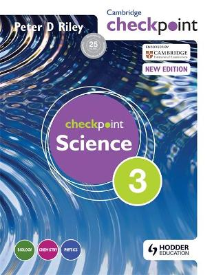 Cambridge Checkpoint Science Student's Book 3 by Peter Riley