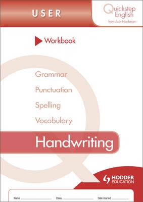 Quickstep English Workbook Handwriting User Stage by Sue Hackman