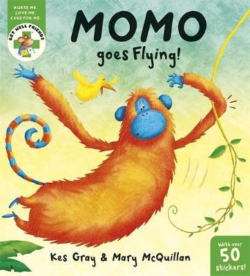 Get Well Friends: Momo Goes Flying by Kes Gray