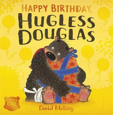 Hugless Douglas: Happy Birthday, Hugless Douglas! Board Book by David Melling