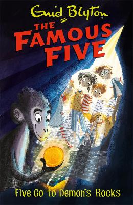 Five Go to Demon's Rocks by Enid Blyton