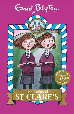 The Twins at St Clare's Book 1 by Enid Blyton
