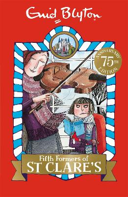 Fifth Formers of St Clare's Book 8 by Enid Blyton