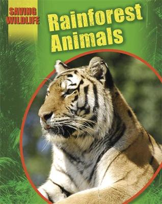 Saving Wildlife: Rainforest Animals by Sonya Newland