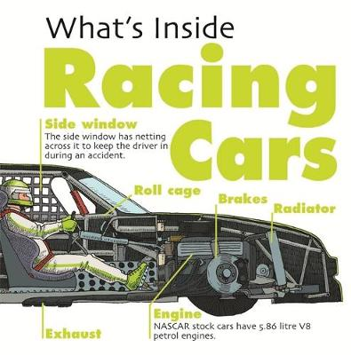 What's Inside?: Racing Cars by David West