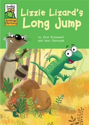 Froglets: Animal Olympics: Lizzie Lizard's Long Jump by Enid Richemont