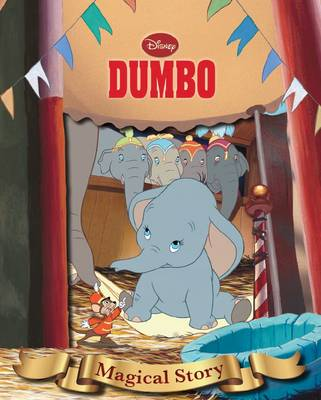 Disney Dumbo Magical Story with Amazing Moving Picture Cover by