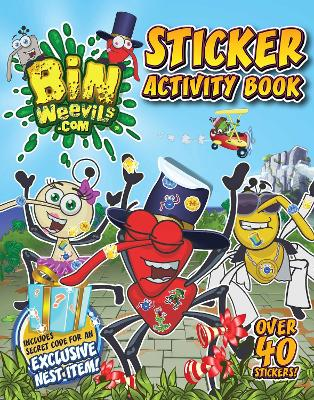 Bin Weevils Sticker Activity Book by Steph Woolley