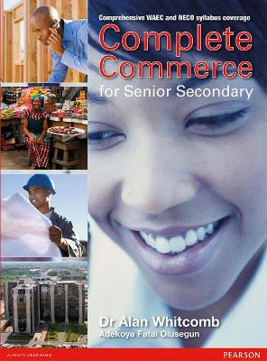 Senior Secondary Commerce for Nigeria Pupils Book by Alan Whitcomb