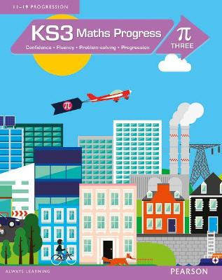 KS3 Maths Progress Student Book Pi 3 by