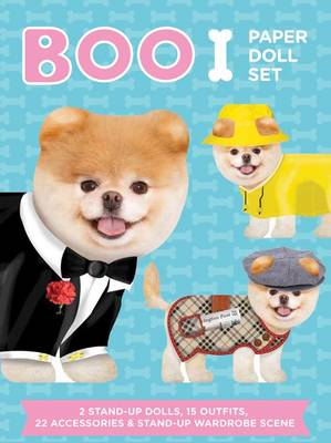 Boo Paper Doll Set by J. H. Lee