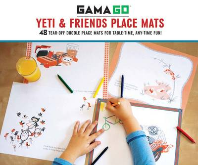 Gamago Yeti & Friends Place Mats by GAMAGO