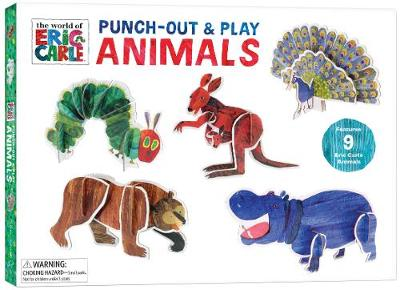 Eric Carle: Punch-Out & Play Animals by Chronicle Books