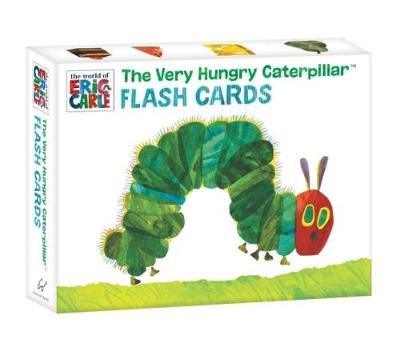 The Very Hungry Caterpillar Flash Cards by Eric Carle