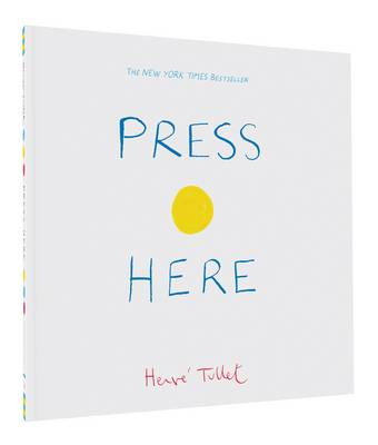 Press Here The Big Book by Herve Tullet