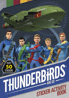 Thunderbirds Are Go Sticker Activity by Simon & Schuster UK