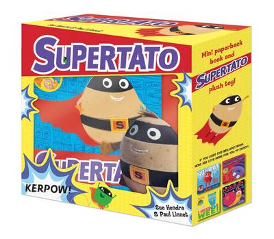 Supertato Book and Plush by Sue Hendra