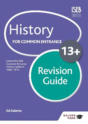 History for Common Entrance 13+ Revision Guide by Ed Adams