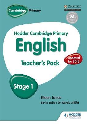 Hodder Cambridge Primary English: Teacher's Pack Stage 1 by Eileen Jones