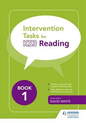 Intervention Tasks for Reading Book 1 by David White