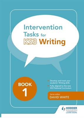 Intervention Tasks for Writing Book 1 by Georghia Ellinas