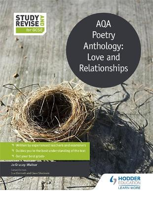 Study and Revise: AQA Poetry Anthology: Love and Relationships by Jo Gracey-Walker