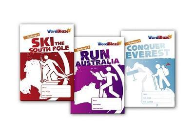 WordBlaze Pack 2 - Blaze Ahead - South Pole, Australia and Everest by