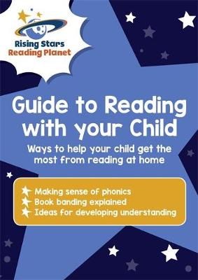 Reading Planet - Guide to Reading with your Child [Pack of 10] by Abigail Steel