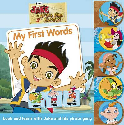 Disney Jake and the Never Land Pirates Tabbed Book by