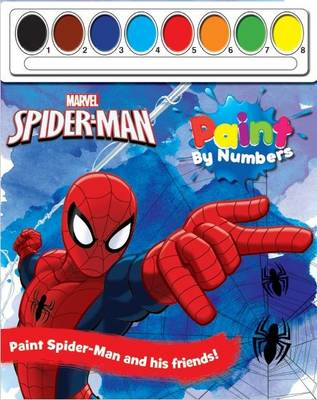 Marvel Spider-Man Paint by Numbers by Parragon