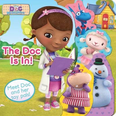 Disney Junior Doc McStuffins The Doc Is In! by Parragon Books Ltd